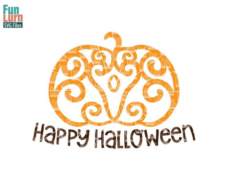 Halloween SVG, Simple Zentangle Pumpkin SVG, Doodle , Autumn,Harvest, Fall,  Ornament,flourish, swirl, intricate, swirls,Pumpkin, png dxf eps