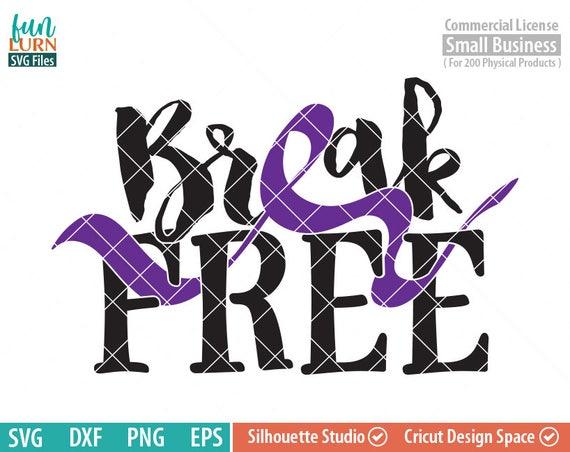 Break Free Svg Domestic Violence Awareness Svg Domestic Etsy
