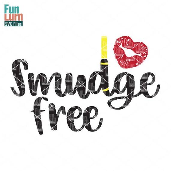 Smudge Free Svg Lips Lipstick Gloss Color Promote Sense Etsy