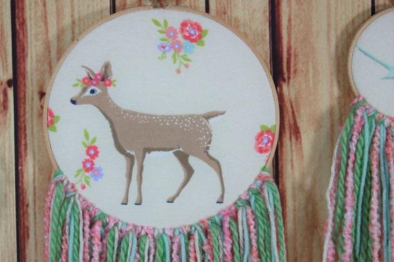 Woodland Nursery décor-Boho Nursery-bébé filles chambre-petites ...