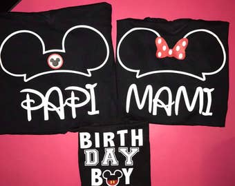 Mickey Mouse shirts Minnie Mouse shirts disney shirts family shirts