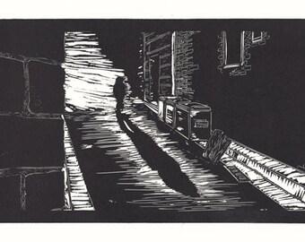 Down a Hidden Alley