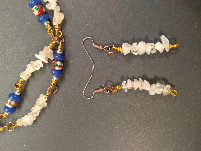 Necklace /& earrings