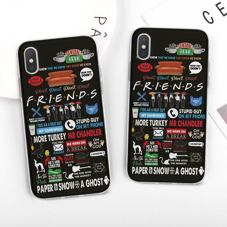 friends iphone 8 plus case