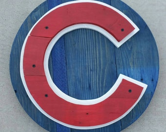 Chicago Cubs Pallet Wood Sign | Cubs | Chicago Cubs | Chicago Cubs Sign | Cubs Sign | Pallet Wood Sign | Chicago Sign