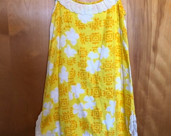 Waltah Clarke Yellow Mini Dress