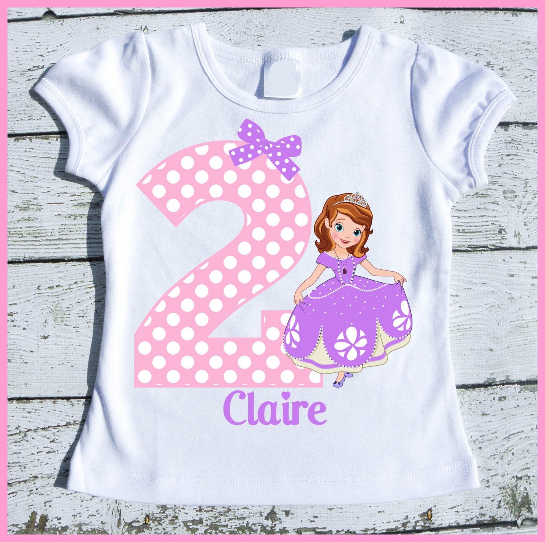 Personalized Princess Birthday T Shirts