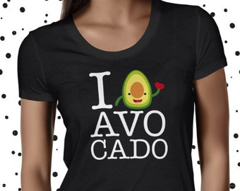 Avocado Shirt Avocado Tee Vegetarian Tee Cute Vegan Tee Funny Vegan Tshirt Vegan Shirt Plant Based Tee Cute Plant Tee Kawaii Avocado Shirt