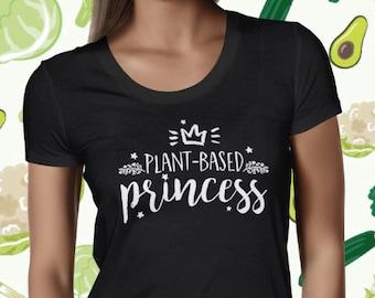 Women's Vegan Shirt - Animal Rights Shirt - Cute Vegan Shirt - Funny Vegan Tshirt - Cute Vegan Tee - Veggie T-shirt - Cute Plant Based Tee