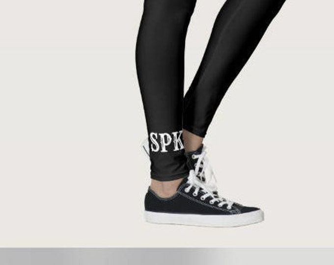 Monogrammed Leggings, Personalized Leggings, Monogrammed, Cheer,Dance, Workout, Girl Leggings, Women Leggings, Team Leggings, Sorority, Team