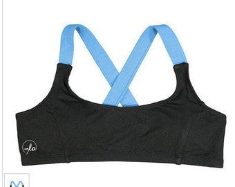 Organic Activewear!  -Organic Bamboo Sports Bra-Innovative, eco friendly fabric keeps you fresh and odor free -Unique and Affordable Wear