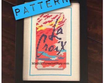 9b69a2a3 PDF PATTERN Passion Fruit La Croix Cross Stitch