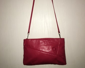 Vintage 70s Red Purse