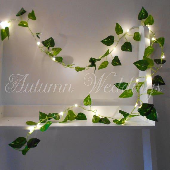Ivy Leaf Fairy Lights 2m 4m Wedding Decorations String Lights Etsy