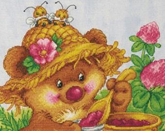 "LanSvit CROSS-STITCH KIT ""Raspberry Happiness"" (D-004)"