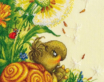 """LanSvit CROSS-STITCH KIT """"Touch of the Summer"""" (D-014)"""