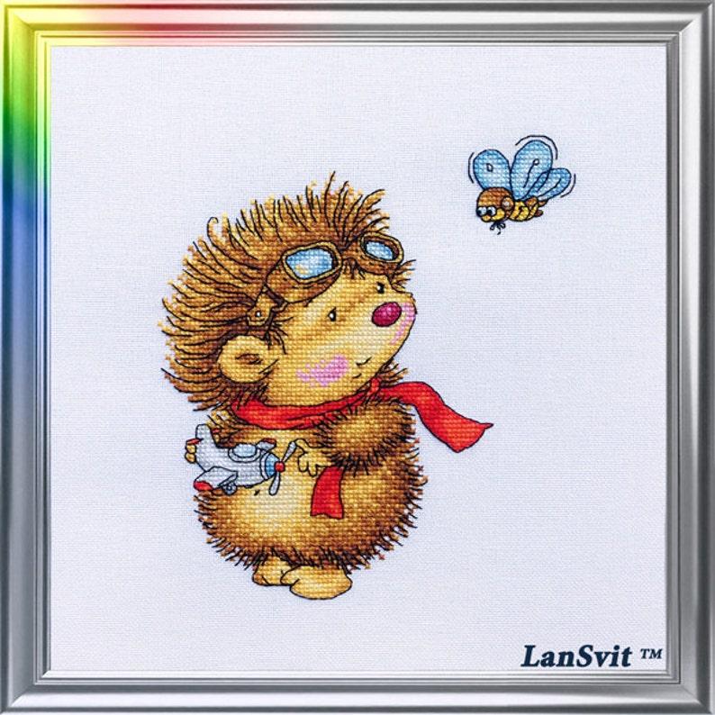 Flying Day LanSvit CROSS-STITCH KIT D-045