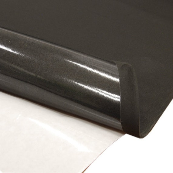 """NEOPRENE WITH ADHESIVE 3//16/"""" THICK X 54/"""" WIDE X 3/' LONG"""
