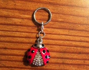 Fancy Bling Ladybug Charm