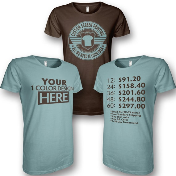 Custom screen printing custom t shirts custom silk for Custom silk screen shirts