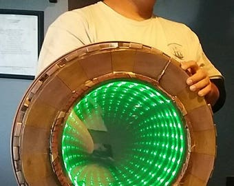 an eye popping vortex dimensional shield my own design