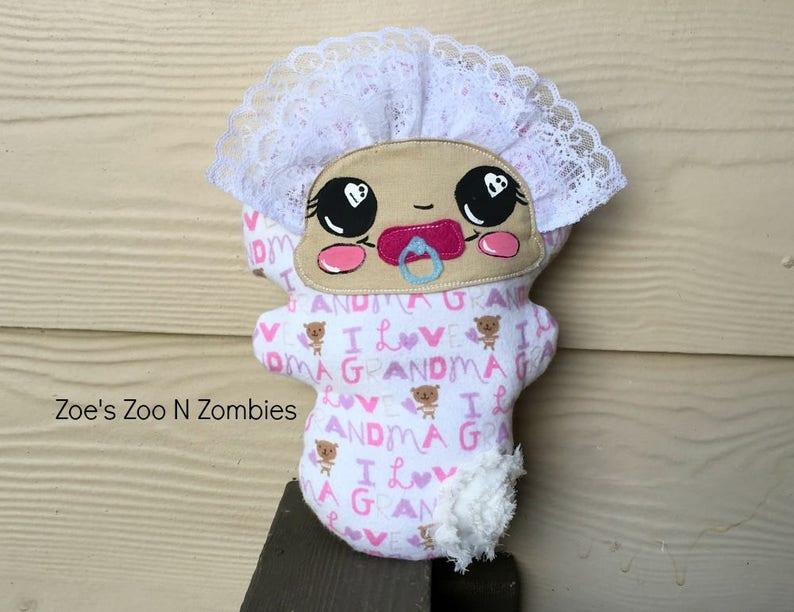 Handmade Soft Cuddly Large Baby Doll Softie  Toy Loving Dollie image 0