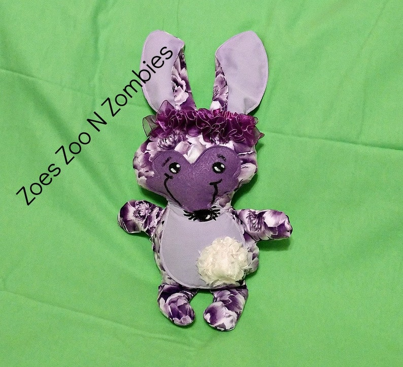 Handmade Purple Bilby Australian Endangered Animal Large image 0