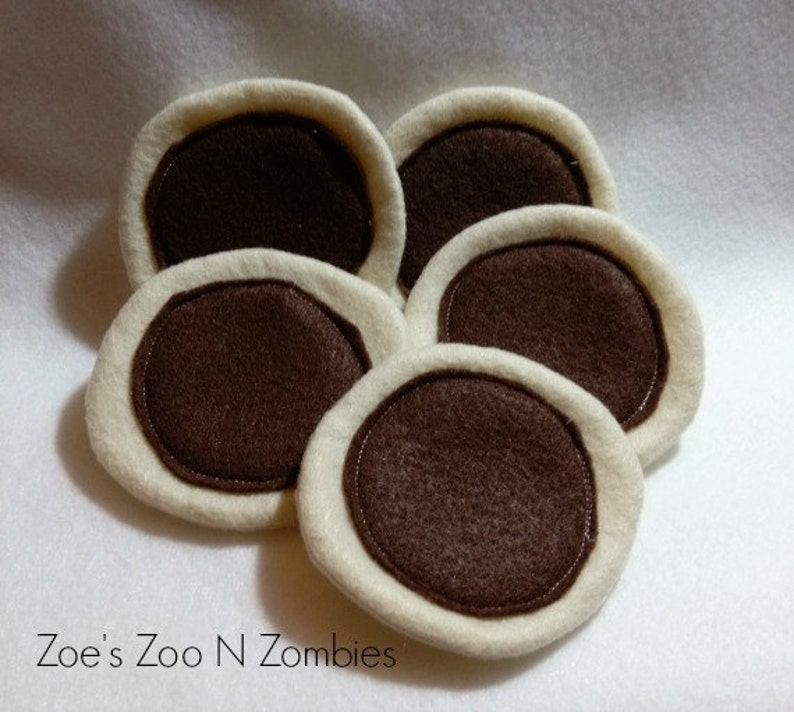 Faux Sugar Cookie Play Time Handmade Plain No Decoration image 0