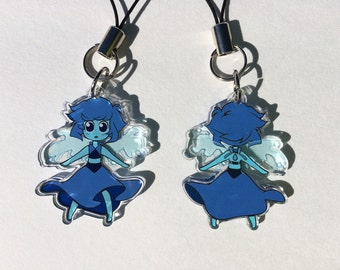 "Steven Universe - Lapis Lazuli 1.5"" Charm"