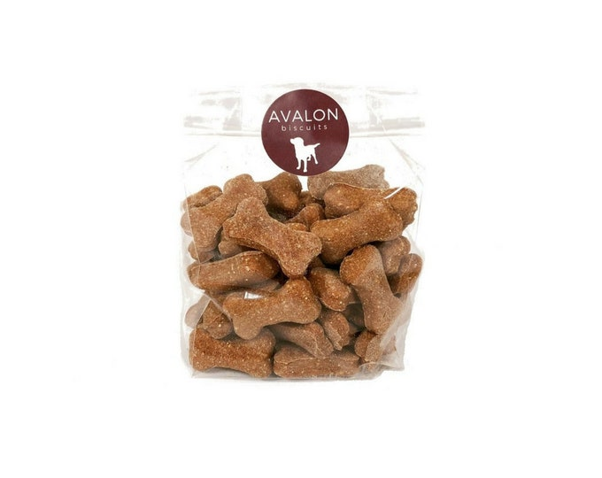 Honey Cinnamon Dog Biscuits 8 oz. Bag