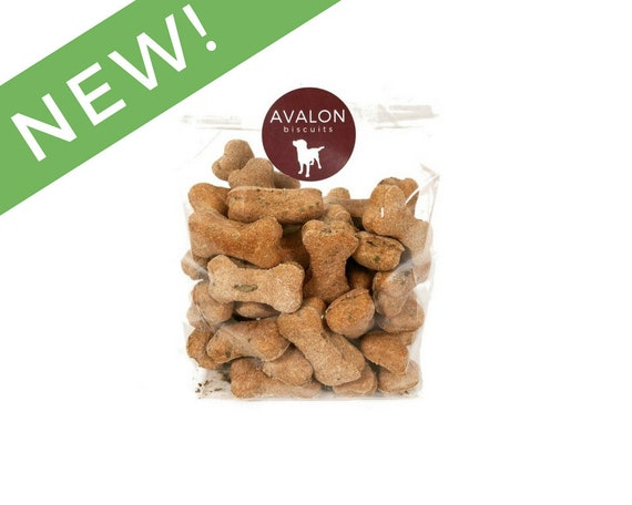 Vanilla Mint Dog Biscuits 8 oz. Bag