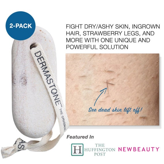 Dermastone Leg Body Scrub 2 Pack Powerful 100 Natural Etsy