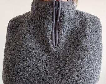 therapeutic neck warmer | wool neck warmer | breast warmer