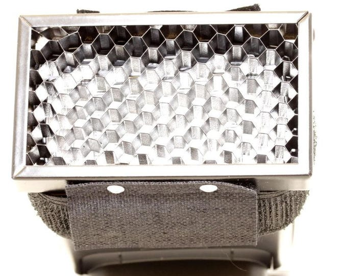 Honeycomb Flash Hood, Fits onto flash unit, Portrait Photography, Modifies light,  Imported, Photography Accessories