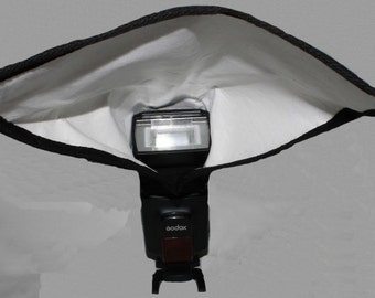 Rectangular Camera Flash Light Reflector,  Photography Accessories, Modifier, Suitable for Studio or Outdoor, Handmade