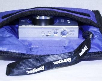 Point and Shoot Camera Cases, Slip into a pocket or purse, Photography Accessories, Water and shock resistant 5 layer padding, Handmade