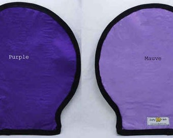 Photography, Flash Light Reflectors,  Photography Accessories, Purple and Mauve, Fit White Shell Reflector, Handmade