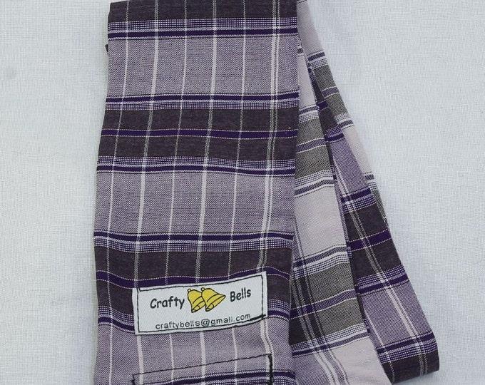 Camera Strap Cover, Strap Sleeve, Purple Batik, Photography Accessories, Slip over existing camera strap, Prevents neck rub