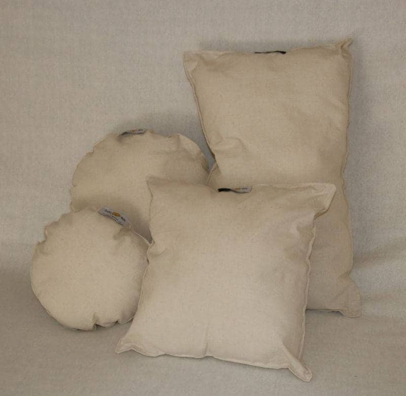 Posing cushions to support baby newborn photography 1
