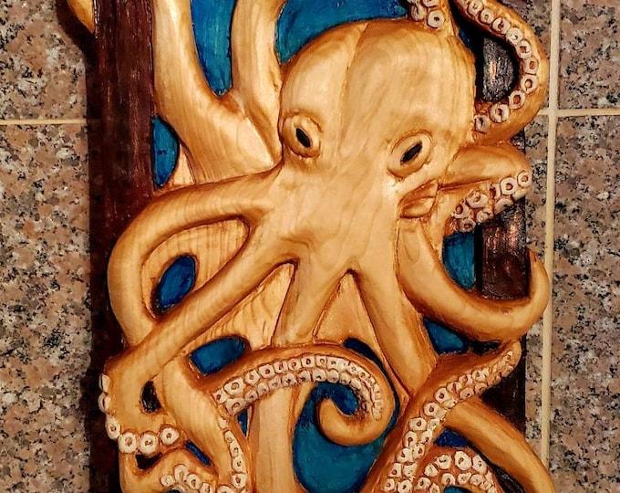 Octopus Framed