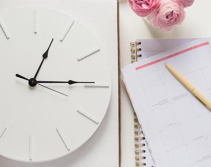 Modern, Minimal Wall Clock