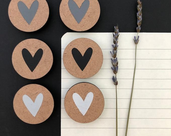 Heart Magnets | Fridge Magnets | Unique Gift Ideas