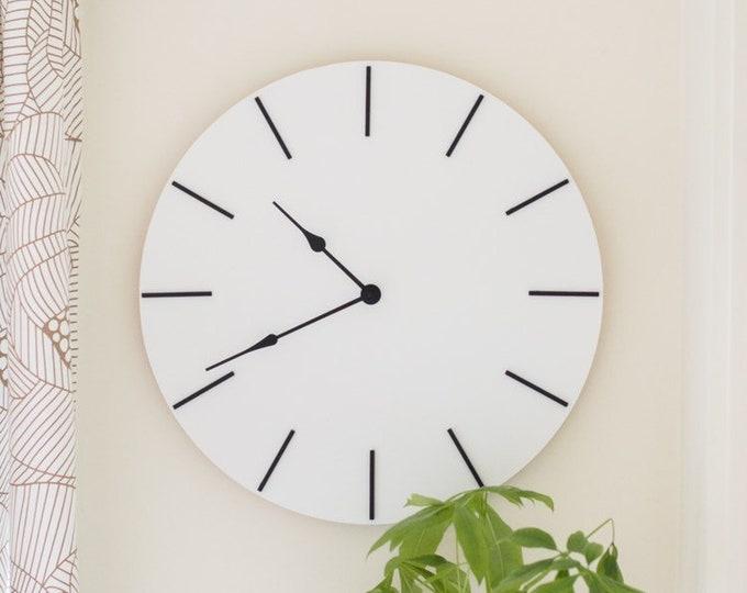 "17"" Wooden Clock"