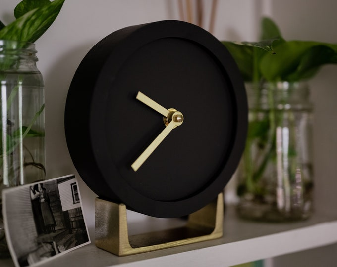 Modern office desk clock, Unique desk clock