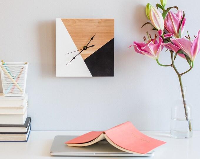 Handmade Wooden Clock, Wall Clock, Handmade clock, Unique wall clock