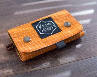 Fly Fishing & Tenkara Wallet Bag- Dyneema X Gridstop/X-Pac - Double Snap Closure - Modern design - Handmade in California
