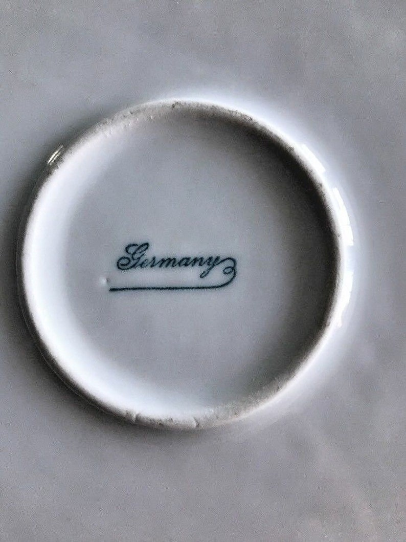 Vintage Germany ABC Childs Dish Bowl Porcelain Nursery Rhymes