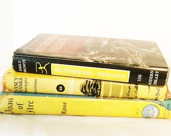 Yellow Books, Book Lover, Book Lovers, Book, Books, Book Lover Gift Set, Librarian Gift, Librarian Gifts, Gifts for Readers, Bookworm