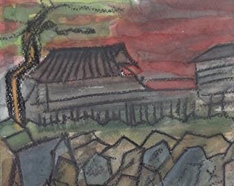 Chūshingura — Sengakuji temple cemetary Akō incident revenge 47 Ronin