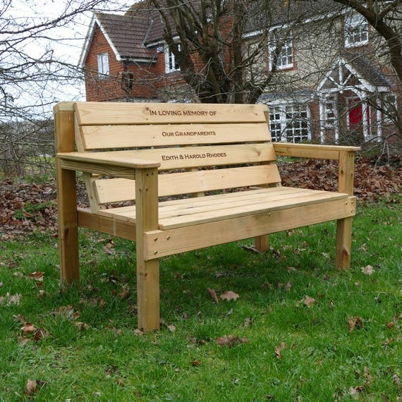 Memorial Bench Engraved Memorial Plaques Garden Memorials